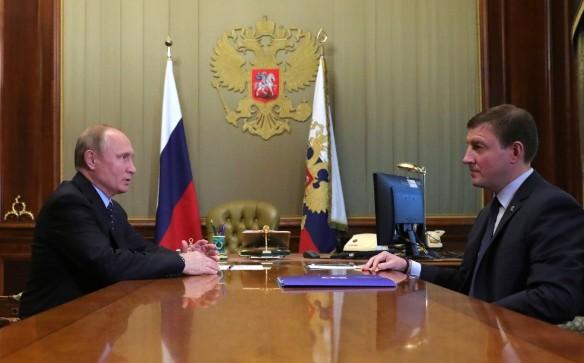 Владимир Путин и Андрей Турчак. Фото: kremlin.ru