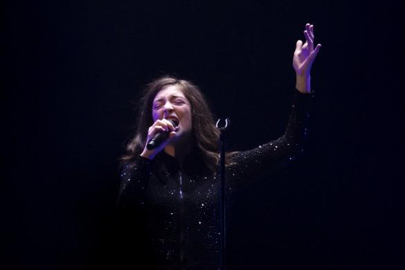 Певица Lorde. Фото: GLOBAL LOOK press/Monica Herndon