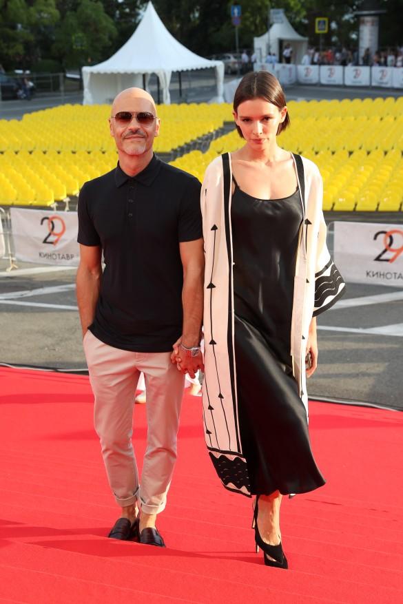 Федор Бондарчук и Паулина Андреева. Фото: Вячеслав Прокофьев/ТАСС