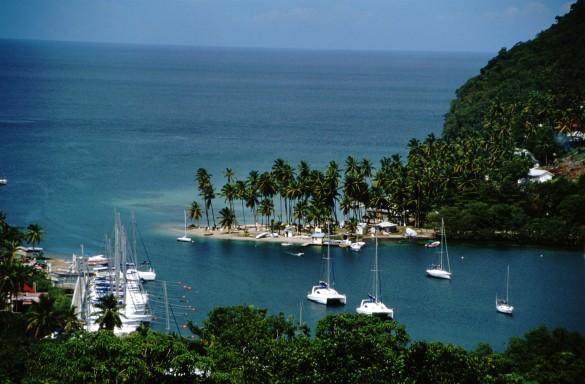 Пляж на острове Сен-Мартен. Фото: GLOBAL LOOK press