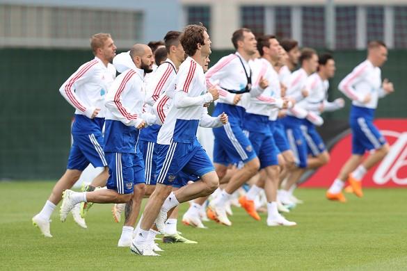 Тренировка сборной России. Фото: rfs.ru