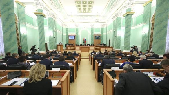 Заседание Парламентского собрания союза Белоруссии и России. Фото: duma.gov.ru