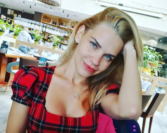 Екатерина Сафронова. Фото: instagram.com/safronovaekaterina812/