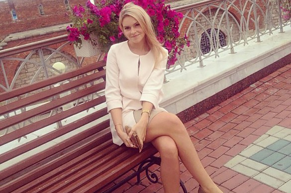 Ксения Туленкова-Мецгер. Фото: instagram.com/sunny22km