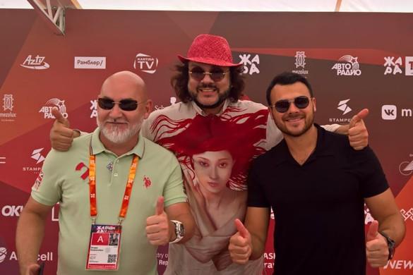 Сергей Кожевников, Филипп Киркоров и Emin. Фото: Dni.Ru/Феликс Грозданов