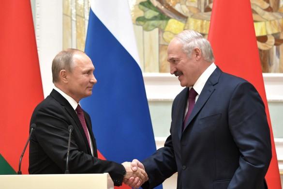 Владимир Путин и Александр Лукашенко. Фото: GLOBAL LOOK press/Kremlin Pool