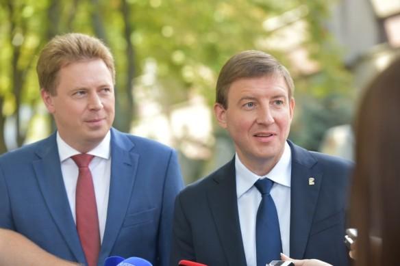 Дмитрий Овсянников и Андрей Турчак. Фото: er.ru