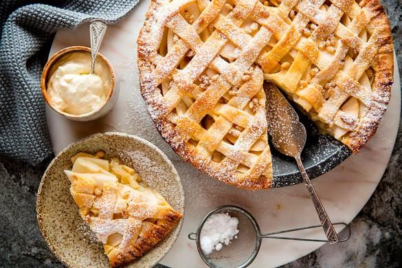 Пирог на Яблочный спас. Фото: пресс-служба ресторана La Scarpetta