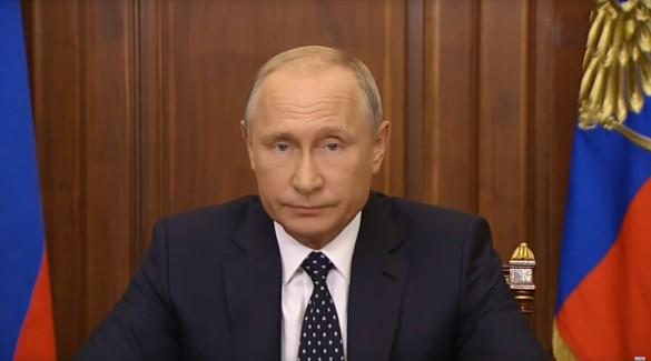 Владимир Путин. Кадр youtube.com