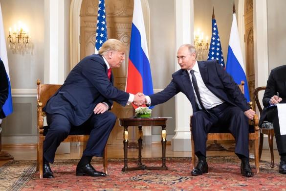 Дональд Трамп и Владимир Путин. Фото: GLOBAL LOOK press/Shealah Craighead