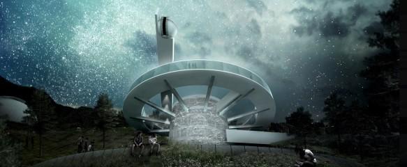 Проект Гватемальской астрономической обсерватории. Фото: Пресс-служба