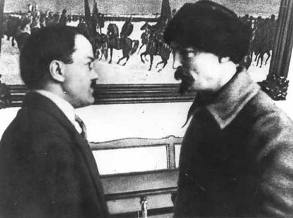 Феликс Держинский и Вячеслав Молотов. Фото: wikipedia.org