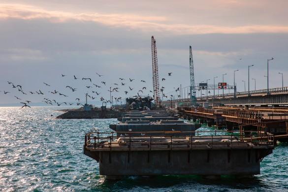 Совсем скоро будет построена железнодорожная часть Крымского моста. Фото: most.life