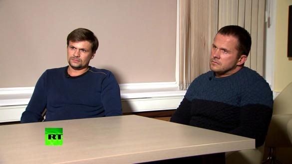 Александр Петров и Руслан Боширов. Фото: GLOBAL LOOK press/Russia Today