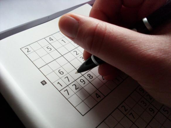 Судоку – одна из самых популярных головоломок. Фото: flickr.com