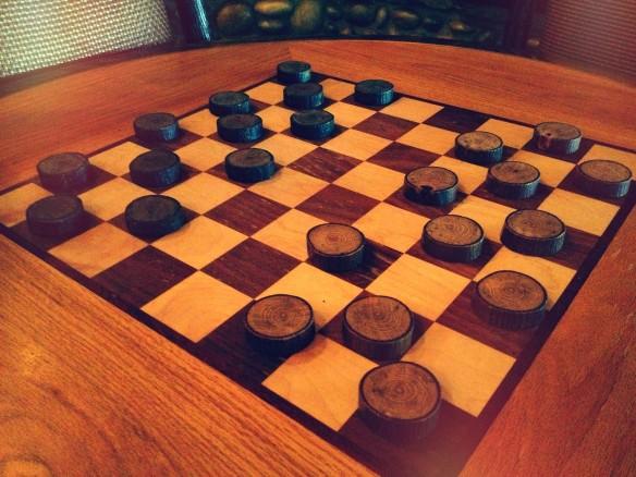 Расстановка шашек перед началом игры. Фото: flickr.com