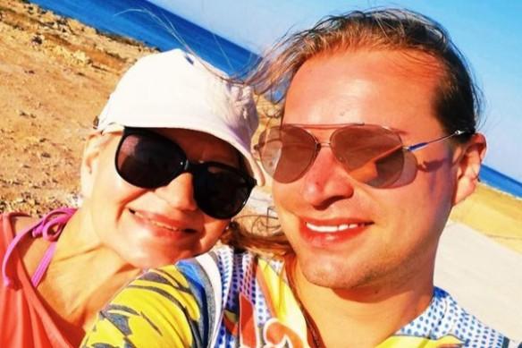 Гоген Солнцев с супругой. Фото: instagram.com/solntcev