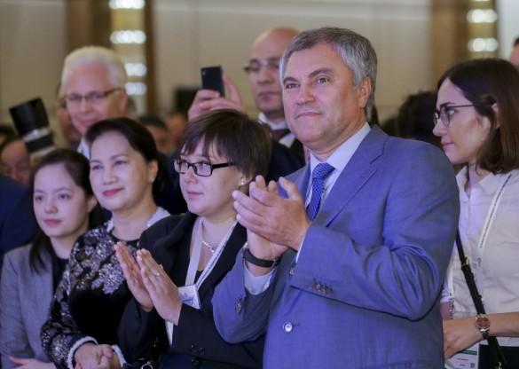 Вячеслав Володин. Фото:vk.com/duma