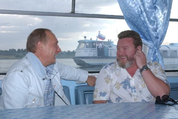 Владимир Путин и Михаил Евдокимов. Фото: wikipedia.org