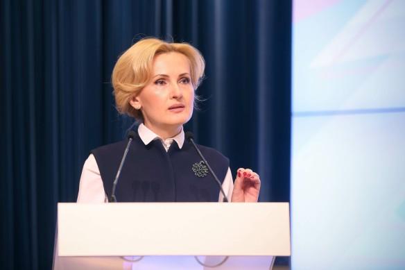 Ирина Яровая. Фото: GLOBAL LOOK press/MinComSvyaz Rossii