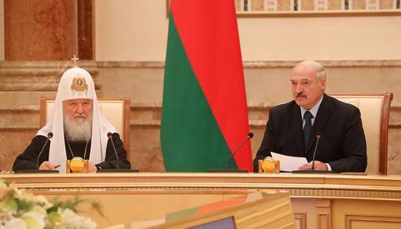 Патриарх Кирилл и Александр Лукашенко. Фото: president.gov.by