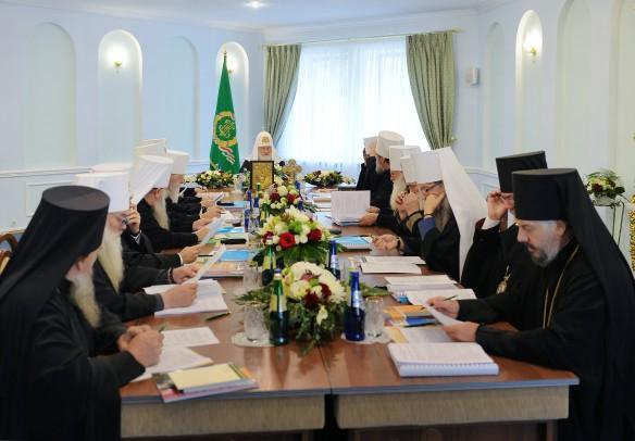 Заседание Синода РПЦ. Фото: GLOBAL LOOK press