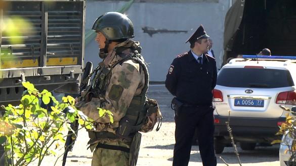 """Фото: Снимок с видео/телеканал """"Крым 24""""/ТАСС"""