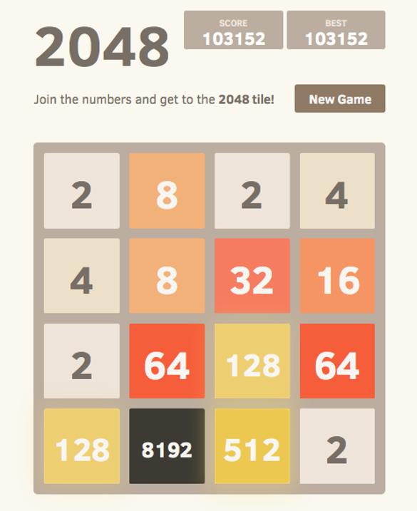 """Популярная бесплатная игра """"2048"""" теперь доступна и на вашем компьютере. Фото: wikipedia.org"""