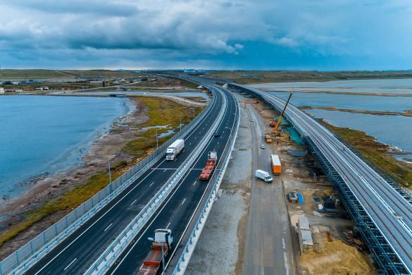 Железнодорожная часть трассы через Керченский пролив откроется в конце следующего года. Фото: most.life