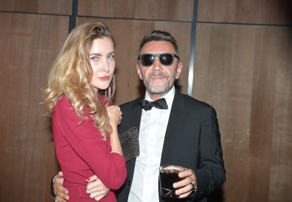 Серей Шнуров с женой Ольгой. Фото: Komsomolskaya Pravda/Global Look Press