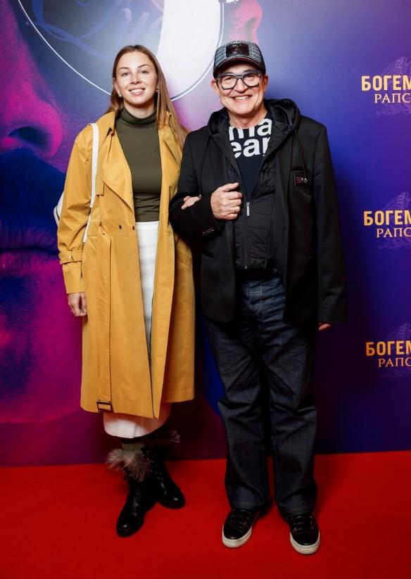 Дмитрий Дибров с женой Полиной. Фото: Пресс-служба