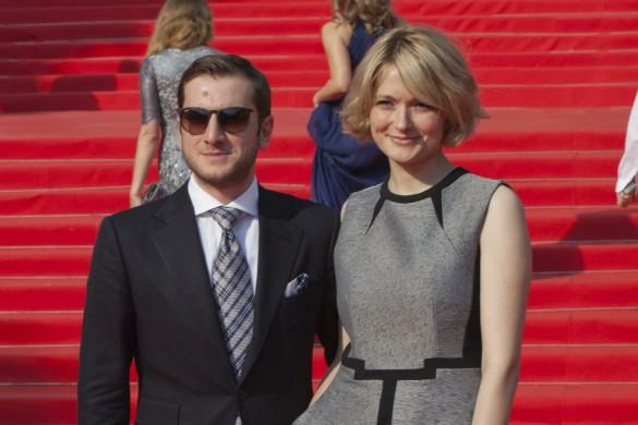 Надежда Михалкова с мужем. Фото: GLOBAL LOOK press/Nadezhda Markalova