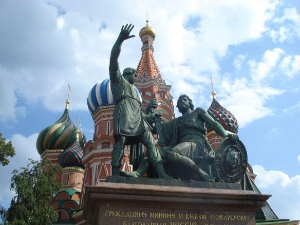 Памятник Минину и Пожарскому. Фото: wikipedia.org