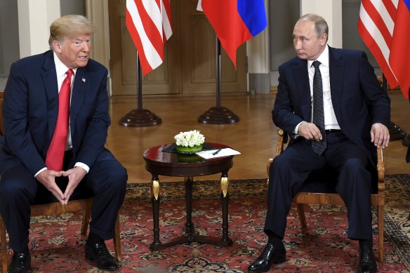 Владимир Путин и Дональд Трампа. Фото: www.globallookpress.com