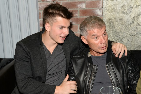 Олег Газманов с сыном Филиппом. Фото: www.globallookpress.com