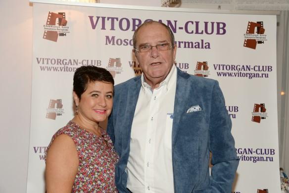 Эммануил Виторган с женой Ириной. Фото: www.globallookpress.com