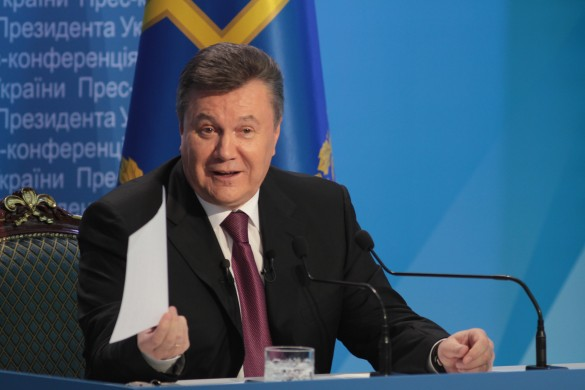 Виктор Янукович. Фото: www.globallookpress.com