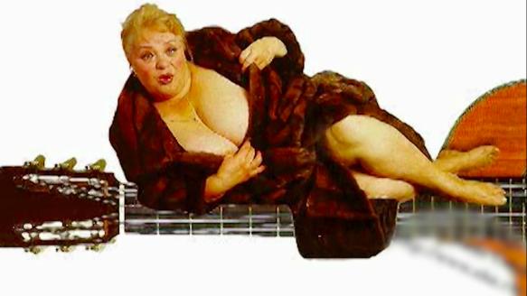 "Наталья Крачковская. Фото: кадр из программы ""Я актриса больших форм"""