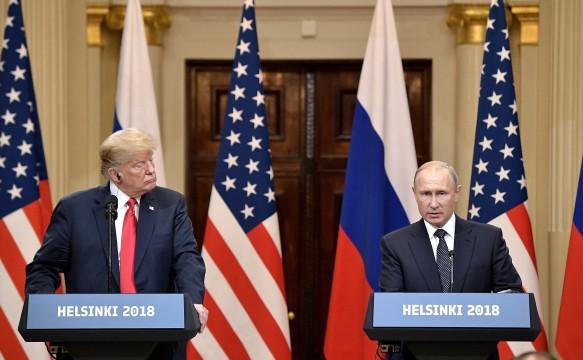 Владимир Путин и Дональд Трамп. Фото: www.globallookpress.com