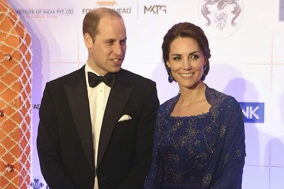 Кейт Миддлтон и принц Уильям. Фото: www.globallookpress.com