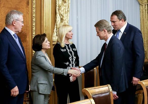 Роландас Паксас в Госдуме. Фото: duma.gov.ru