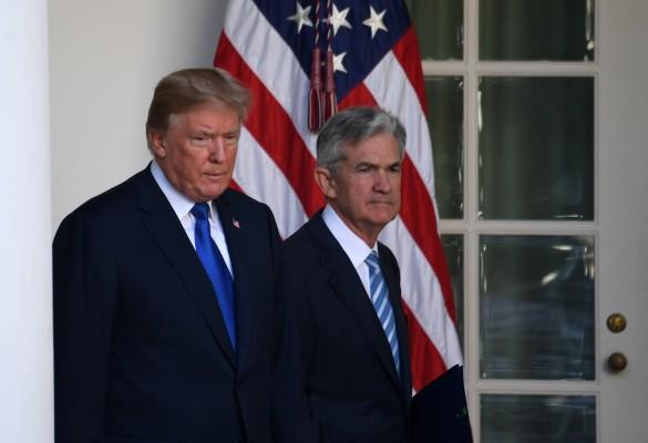 Дональд Трамп и Джером Пауэлл. Фото: www.globallookpress.com