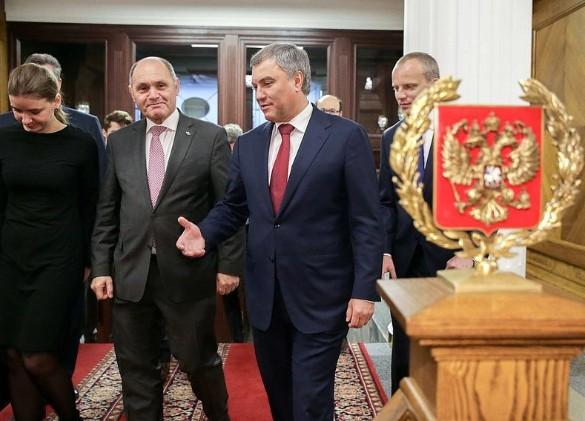 Вячеслав Володин и Вольфганг Соботка. Фото: duma.gov.ru
