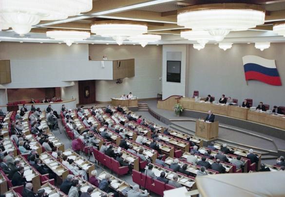 Государственная дума Российской Федерации II созыва. Фото: Неменов Александр/Фотохроника ТА