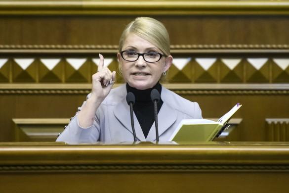 Юлия Тимошенко. Фото: www.globallookpress.com