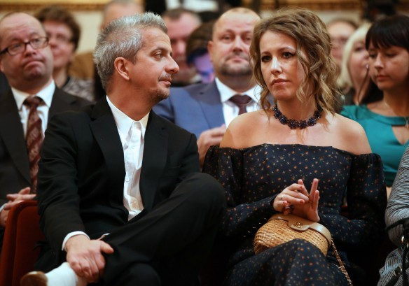 Константин Богомолов и Ксения Собчак. Фото: www.globallookpress.com