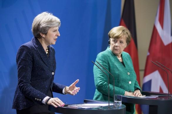 Ангела Меркель и Тереза Мэй. Фото: www.globallookpress.com