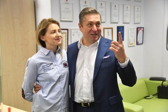 Наталья Поклонская с мужем Иваном Соловьевым. Фото: www.globallookpress.com