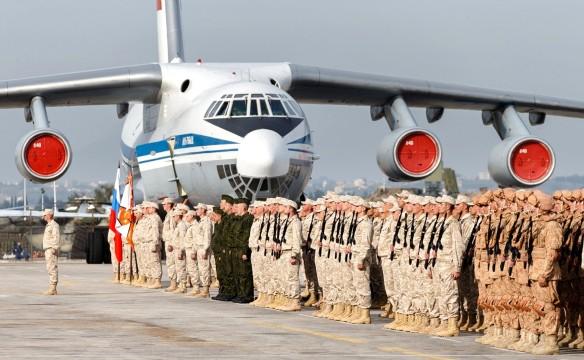 Российские войска в Сирии. Фото: www.globallookpress.com
