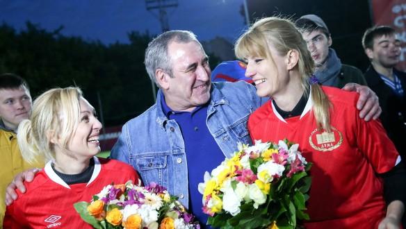 Ольга Тимофеева, Сергей Неверов и Светлана Журова. Фото: duma.gov.ru